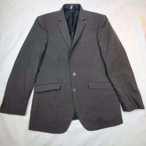 Men's Ar Red For Cintas Pinstripe Blazer Size 40R